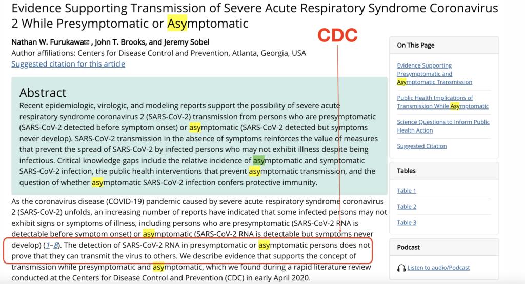 CDC asymp
